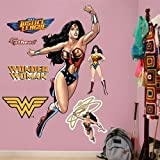 FATHEAD Wonder Woman: in Action-Life-Size Officially Licensed DC Removable Wall Decal