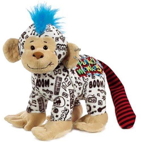 Webkinz Rockerz Monkey 8.5' Plush