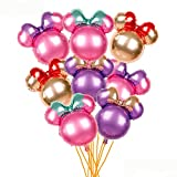 24'Mickey Mouse New Type Minnie Head Aluminum foil Balloons Mylar Balloons for Birthday Party Decoration (24' Minnie Head)