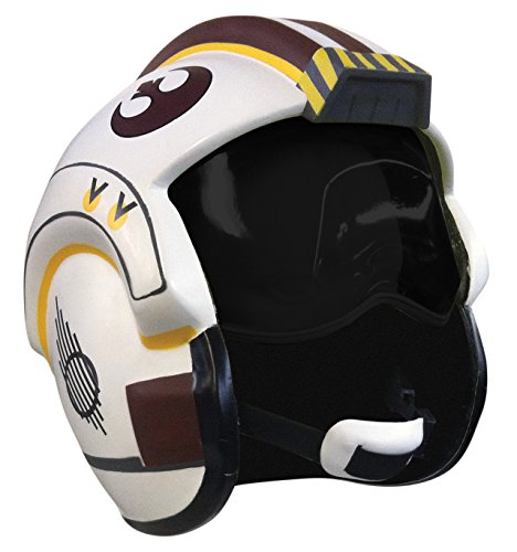 Rubie's Men's Star Wars X-Wing Costume Helmet, As Shown, One Size