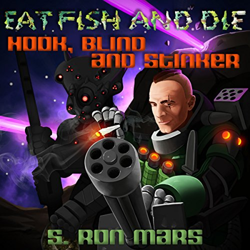 Hook, Blind and Stinker audiobook cover art