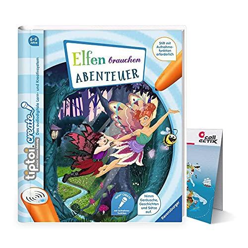 tiptoi Ravensburger Create - Libro con mapa del mundo para niños