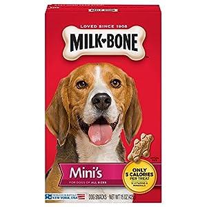 Milk-Bone Mini's Dog Treats, 15-Ounce (Pack of 6)