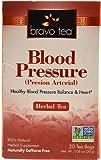 Bravo Tea Blood Pressure Herbal Tea -- 20 Tea Bags - 3PC