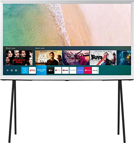 Samsung The Serif Series 123 cm (49 Inches) 4K Ultra HD Smart QLED TV QA49LS01TAKXXL (Cloud White) (2020 Model)