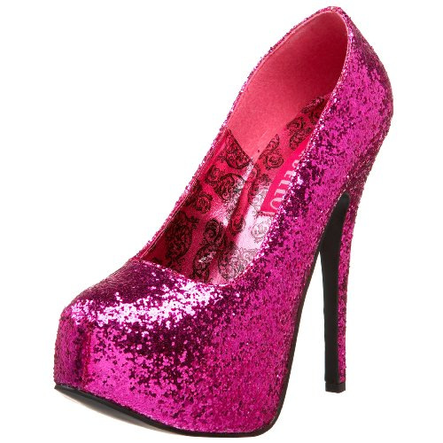 Bordello TEEZE-06G H. Pink GLTR UK 5 (EU 38)
