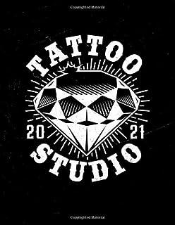 Tattooist appointment book 2021: Tattoo artist appointment book 2021. Month to Month Calendar - Daily appointments with 15...