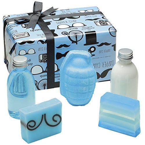 Bomb Cosmetics The Distinguished Gentleman Handmade Wrapped Bath, Body &...