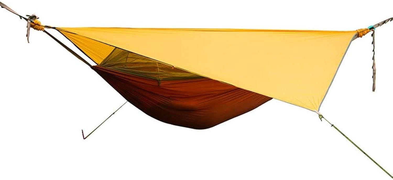 L&WB Camping Hngematten, Outdoor Waterproof Solar Shop Himmel atmungsaktiv tragbare Schaukel Bett Garten Strand Wandern Picknick