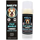 Baely's Paw Shield Rescue Stick - Trust the Original Made in America Paw Shield   Easy to Apply Dog Paw Protection Wax   Natural Paw Protection for Hot Cold Rain & Mushers in Snow   2 oz Easy to Apply