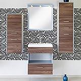 Ambiance-Live col-tiles-ros-a861_ 20x 20cm Pegatinas Adhesivos carrelages, multicolor, 20x 20cm, Set de 9piezas