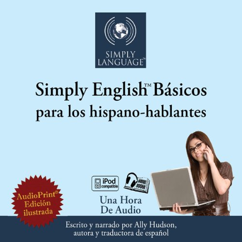 Simply English Basics: For Spanish Speakers audiobook cover art