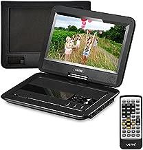 UEME Portable DVD Player with Car Headrest Mount Case, 10.1