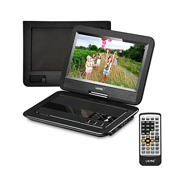 Portable DVD Player with 10.1 Inches LCD Screen 3