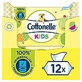 Cottonelle - Papel higiénico para niños (12 x 42 unidades, 2,16 kg)