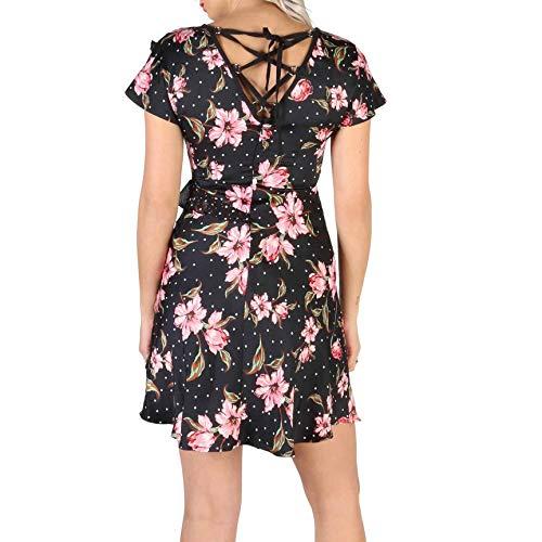 Guess Vestido W84K18_WAWQ0 Mujer Color: Negro Talla: XS