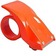 Verpakking Tape Dispenser Mini Draagbare Tape Slicer Organizer Tape schaar Oranje