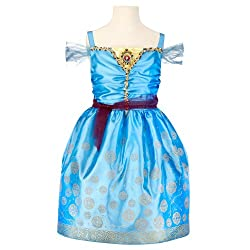 Disney Princess Merida Enchanted Evening Kids Costume from Amazon Prime