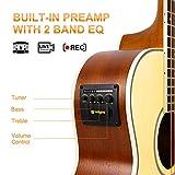 Immagine 2 vangoa chitarra acustica 36 pollici