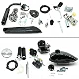 80cc Fahrradmotor Kits 2-Takt-Fahrradbenzinmotor Pedal Cycle Benzinmotor Kit , Maximale Geschwindigkeit 38KM/H, für E-Fahrrad Mountainbikes Rennräder