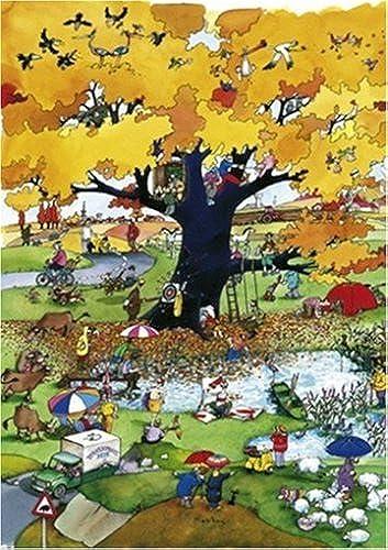 Unbekannt Puzzle Blachon, 4 Seasons Autumn - 1000 Teile, gelegte Größe  48 x 68 cm