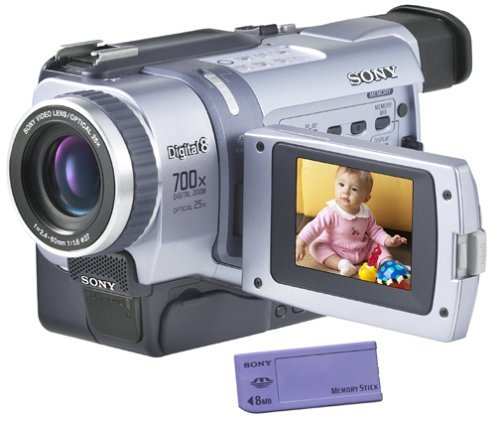 top 10 hi8 digital camcorders Sony Digital8 DCR-TRV330 Camcorder Sony Handycam Digital8 Player Hi8 Camcorder (Updated)