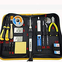 Soldering Electric Soldering Iron 220V 35W fer a souder Soldering Station With Solder Tip Tin Wire Welding Repair Tools Ki...