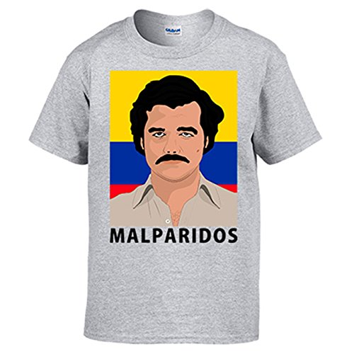 Diver Camisetas Camiseta ilustración Pablo Escobar malparidos