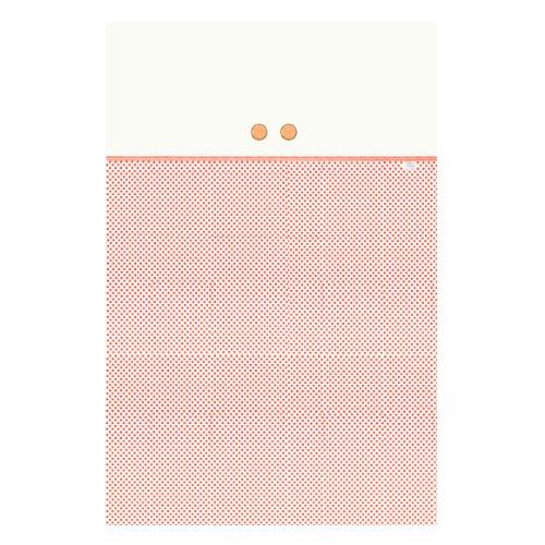 Câlin Câline Nina 105.34Decke 70x 140cm weiß mit roten Punkten