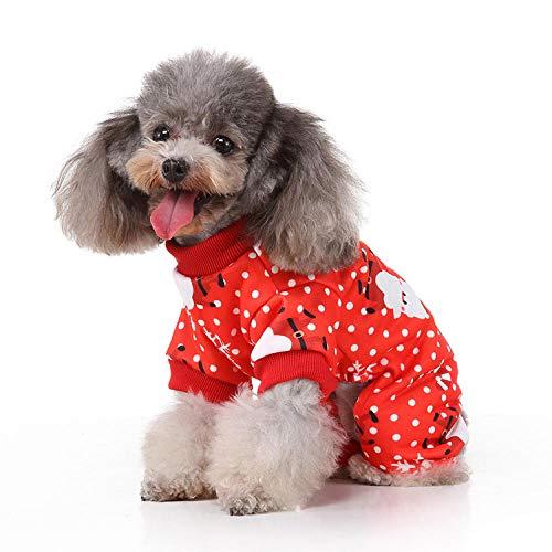 MRQXDP Disfraz de Disfraces de Mascotas Alternativo de Personalidad Divertida de Halloween Suministros para Mascotas de Vacaciones de Navidad-A-01-M