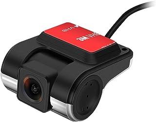 (DVR028) XTRONS アンドロイド機種専用 ドライブレコーダー HD720P 常時録画 マイク内蔵 録音可能 140度広視野角 ミニ小型 75度回転 USB接続
