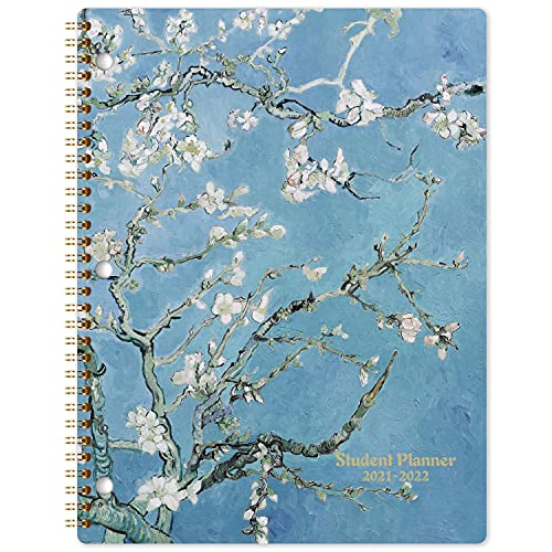 Student Planner 2021-2022 - Academic Planner from Jul 2021 - Jun 2022, 11'' × 9'', Weekly & Monthly Planner, Weekly Lesson Planner with Strong Twin-Wire Binding, Stickers, Premium Papers