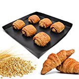 Firsmat Solid Cooking Basket, BBQ Basket,Non Stick PTFE Toaster Baking Tray For Speed Ovens ,Quick oven Basket Tray for Chips Chicken Wings Bread Heating