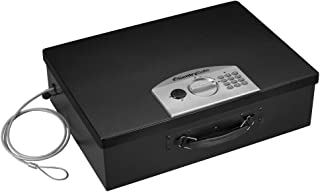 SentrySafe PL048E Electronic Security Box, 0.5 Cubic Feet, Black