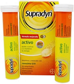 BAYER HISPANIA. S.L. Supradyn activo efervescente 30 comprimidos. Normal