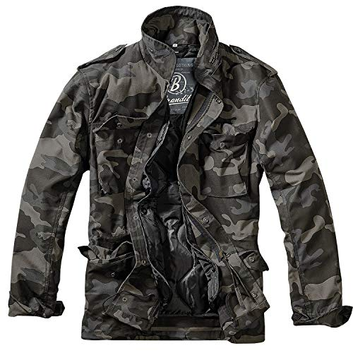 Brandit M65 Standard Jacke Darkcamo XXL