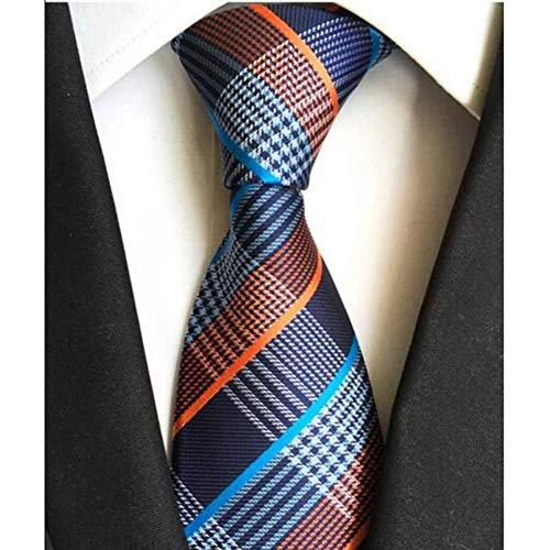 MU Freizeit-Männer Krawatte Schwarz Mode Explosion Modelle Hoch Latitude Dense Paisley Cashew Blume Polyester Trendy Männer das Geschäft West Zubehör Krawatte,Y89