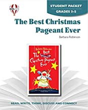 The Best Christmas Pageant Ever - Student Packet by Novel Units