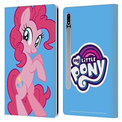 Head Case Designs Licenciado Oficialmente My Little Pony Pinkie Pie Solo Arte del Personaje Carcasa de Cuero Tipo Libro Compatible con Samsung Galaxy Tab S7 5G