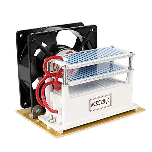 Walmeck 20g / h Ozongenerator 220 V Luftfilter Ozongerät Luftreiniger Ventilator für Fabrik Hause Auto Sterilisation