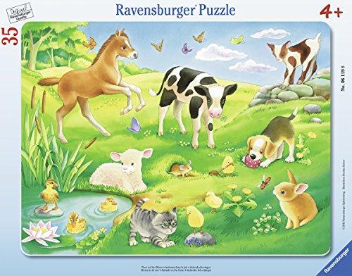Ravensburger 06119 - Tiere auf der Wiese