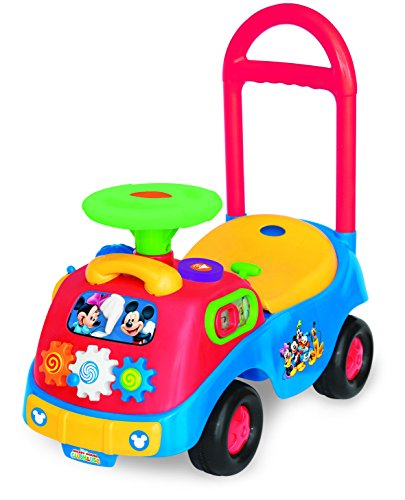 Kiddleland Disney Mickey and Friends Activity Gears Ride-On (Mickey Mouse)
