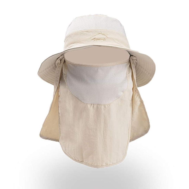 吸収不忠逸脱太陽の帽子,レディース 夏 バイザー帽子 折りたたみ抗UV ベール付き のカジュアルな帽子