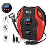 Oasser Air Compressor Tire Inflator Pump Electric Portable Air Infaltor with Digital LCD