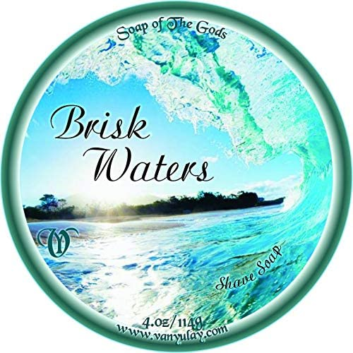 online shopping Brisk Our shop OFFers the best service Waters Natural Shaving Soap Shea oz 4.0 Butter with