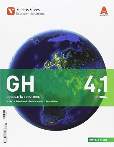 GH 4 (4.1-4.2) CASTILLA Y LEON HISTORIA AULA 3D: 000002 - 9788468235561