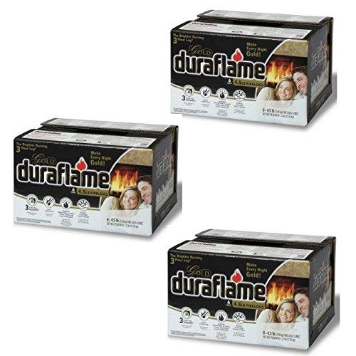 Best Bargain Duraflame Gold Firelogs - 3 PACK