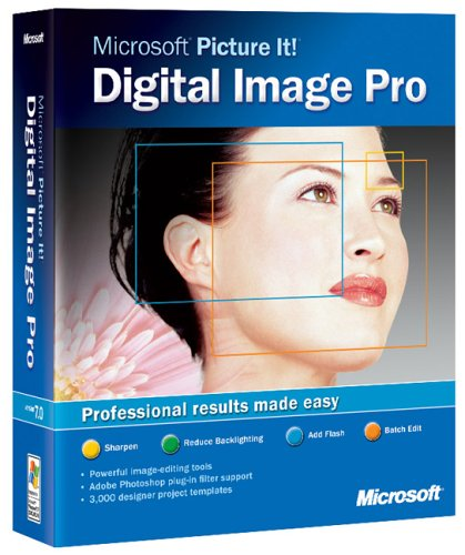 MS Picture It Digital Image Pro 7.0 CD W32