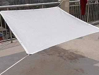 LSXIAO-Rete Parasole Serre Antivento Rete Ombreggiata Raffreddamento della Protezione Solare Traspirante Durevole Foro per Anello in Metallo Protezione dei Fiori Patio Esterno 25 Dimensioni