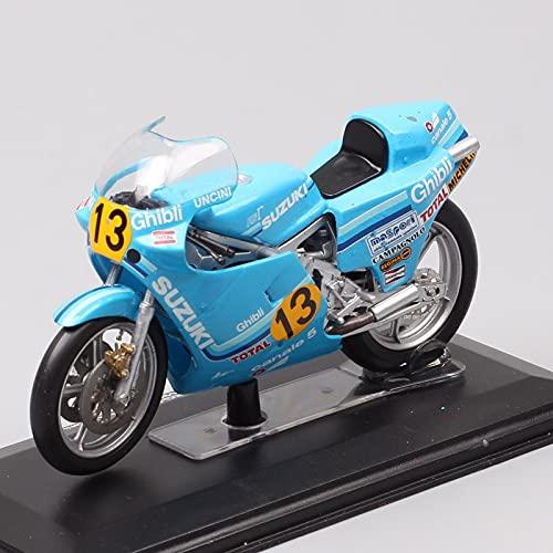 Maquetas de Coches 1:24 Escalas Italeri Antiguo Suzuki RG 500 Campeón del Mundo GP Racing 1982 No.13 Franco Uncini Motocicleta Diecast Y Vehículos De Juguete Bicicleta